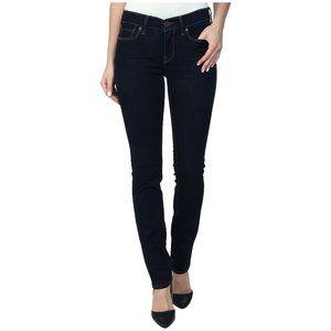 EUC Lucky Brooke Straight Leg Dark Wash Jeans 2/26